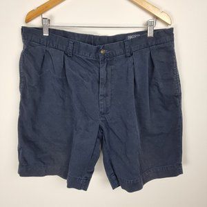 Polo By Ralph Lauren Shorts Blue Chino Size 38